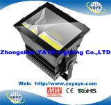 CREE/Meanwell/5 년 보장을%s 가진 Yaye 18 Ce/RoHS/UL 1000W LED Spotlight/LED Project/LED 플러드 점화
