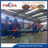 Fornitore professionista nella linea di produzione d'appallottolamento del legno cinese