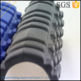 Etiqueta de rodillo de espuma negra para masaje muscular