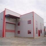강철 구조물 제조자에서 조립식 작업장 건물