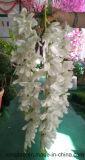 Flor artificial de casamento de glicínias de seda de design novo