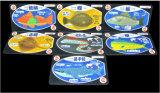 Jogo de cartões submarino do jogo do PVC do mundo/cartões de jogo plásticos do póquer