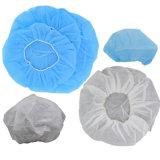 Protezione non tessuta (LH-140), protezione Bouffant, protezione non tessuta della calca