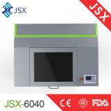 Laser die van Co2 van Jsx6040 35With60W de Kleine Machine voor Non-Metal Materiaal merken