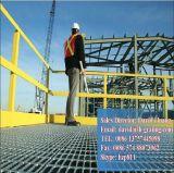 Galvanisé à chaud plate-forme de grille en acier de structure en acier-de-chaussée