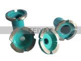 Алмазные шлифовальные колеса в сборе с валом