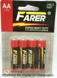 1.5V Farerの極度の頑丈な乾電池(R6 AA、Um3)
