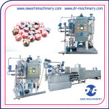 التلقائي خط إنتاج حلوى عالية السرعة آلة الحلوى الصلبة