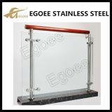 Balkon-Geländer konzipiert im Freien Glasgeländer für Treppen-Handlauf