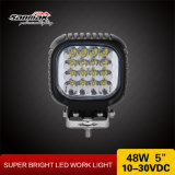 Square off road Moto luz de LED