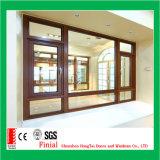 Верхние двери Windows европейского стандарта качества аттестованные Австралией алюминиевые