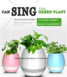 공장 도매 2017 창조적인 다채로운 휴대용 무선 Bluetooth 음악 화분 스피커
