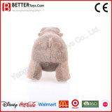 중국 살아있는 것 같은 연약한 채워진 Aniaml 견면 벨벳 하마 장난감
