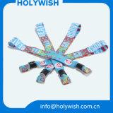 Tissu bon marché de bracelet de textile avec le blocage intelligent noir