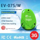 EV-07s中国GPSの追跡者の製造業者はとの注意深いGPS年配GPSのロケータのための装置を追跡する落ちる