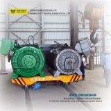 Manejo de motorizados Transporter Rail Carro de la transferencia de trituradoras de piedra