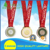メダルまたは荷物のためのカスタマイズされた締縄または工場価格のカード