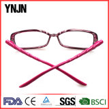 Ynjnの女性のピンクの新型の細字用レンズ