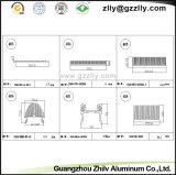La refrigeración del radiador de aluminio/aluminio disipador de calor para las máquinas y componentes electrónicos