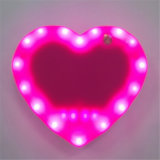 Meilleur Coeur cadeau du jour de Valentine Indicateur LED Power Bank