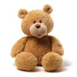 O costume encheu o brinquedo do luxuoso do urso da peluche