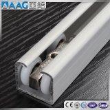 Profil en aluminium/en aluminium de longeron de piste de porte d'extrusion