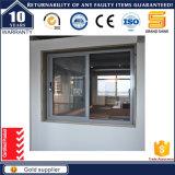 Ventana de desplazamiento esmaltada interior y exterior doble enmarcada aluminio