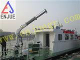 Электрический гидровлический телескопичный кран морского пехотинца заграждения