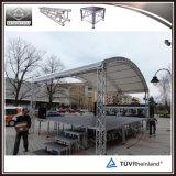 Estágio portátil do evento do estágio ao ar livre de alumínio do concerto