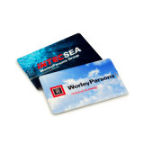 풀 컬러 인쇄 (EC008)를 가진 아주 얇은 신용 카드 USB 섬광 드라이브