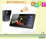 drahtlose videotelefon-Türklingel-Wechselsprechanlage der Tür-2.4G für Haus-Sicherheit
