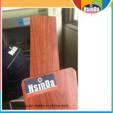 Le revêtement en bois personnalisé de poudre des graines d'effet en bois s'est appliqué par procédé de transfert thermique