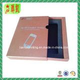 Rectángulo de papel del cajón rígido con la pieza inserta y la bandeja