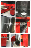 Armadio da cucina variopinto rivestito dell'acciaio inossidabile della nuova polvere di arrivo di N&L