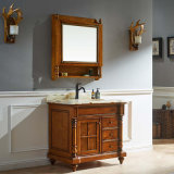 卸し売りカシ木浴室用キャビネットの虚栄心の流し単位(GSP14-035)