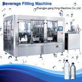 Optimizational pequeñas botellas de agua mineral el llenado de la línea de producción