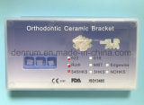 Corchete ortodóntico de cerámica certificado Ce de Monoblock Roth de la fabricación de Denrum