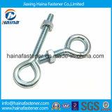 Aço inoxidável Ss 304 / Ss316 parafuso de olho / gancho de olho em parafuso de zinco