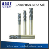 4flute Tungsten Steel Ball Nose End Mill pour Machine CNC