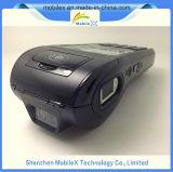 Terminal POS móvel com impressora, scanner de código de barras 2D, impressão digital