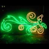 Luz ao ar livre da decoração do diodo emissor de luz para o Natal, o partido e o casamento
