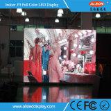 Большое плоское экран TV представления P3 крытое для театра