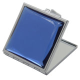 Espejo de aumento de cristal azul al por mayor de encargo