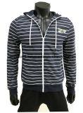 Neuer Entwurf Hoody für junge Männer mit Garn-Farbe Striped