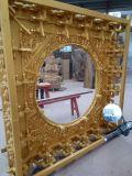 Fornitore dorato di scultura di legno di stile cinese