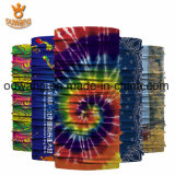 Merveilleux tissu populaire le commerce de gros logo personnalisé extensible au bandana transparente