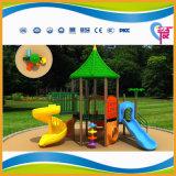Apparatuur van de Speelplaats van de Jonge geitjes van Ce de Veilige Goedkope Plastic Openlucht voor Verkoop (hoed-009)