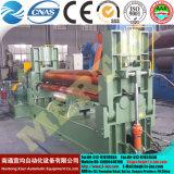 Quente! Máquina de rolamento simétrica hidráulica da placa de três rolos Mclw11nc-20*2500, máquina de dobra