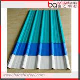 Placas de tejado corrugado prepintadas / Hoja de cubierta de acero recubierta de color