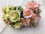 실크 꽃 인공적인 로즈 가짜 꽃 결혼식 꽃꽂이 홈 훈장